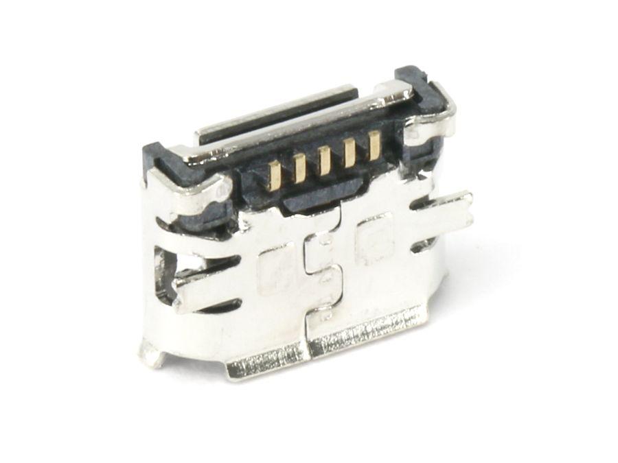 Micro-USB Buchse FCI, Typ B, Version 2.0, SMD, 90° Winkel online ...