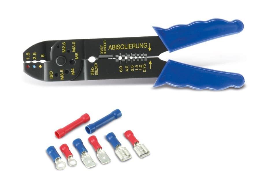 Sehr Gut Kabelschuh-Sortiment mit Zange, 61-teilig online kaufen | Pollin.de SL01