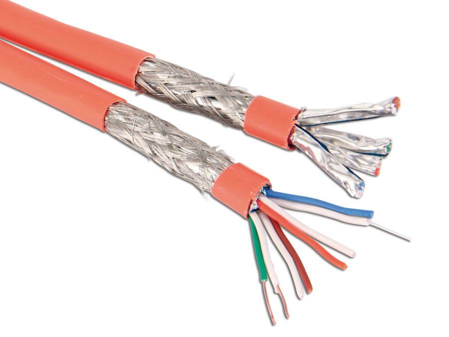 Gut CAT.7 Verlegekabel S/FTP, duplex, 100 m online kaufen | Pollin.de FJ65