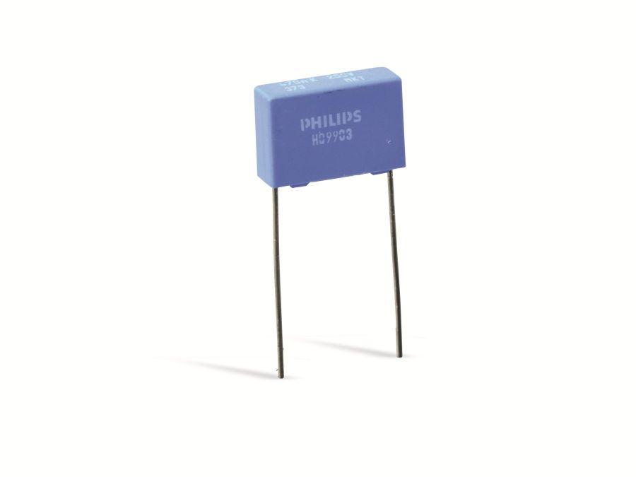 Philips Folko PHILIPS MKT373, 470nF 10%, 250V-, RM15