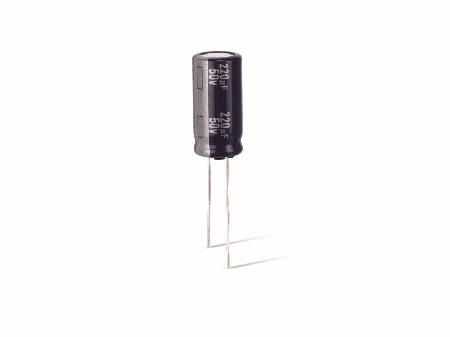0036 Elko Elektrolytkondensator Kondensator 220uF 63V 105°C 2 Stück