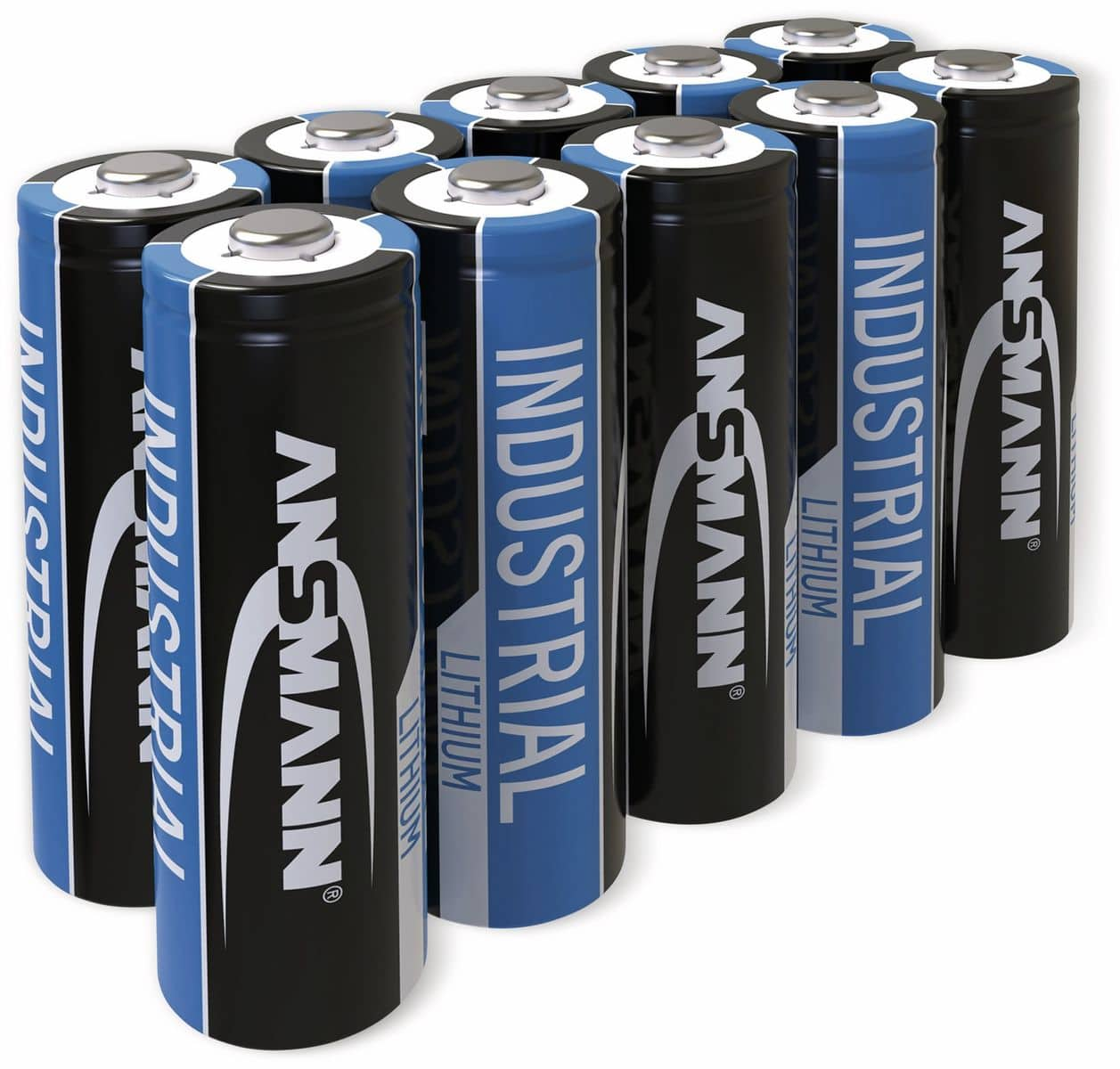 lithium batterie ansmann industrial mignon 10 st ck. Black Bedroom Furniture Sets. Home Design Ideas