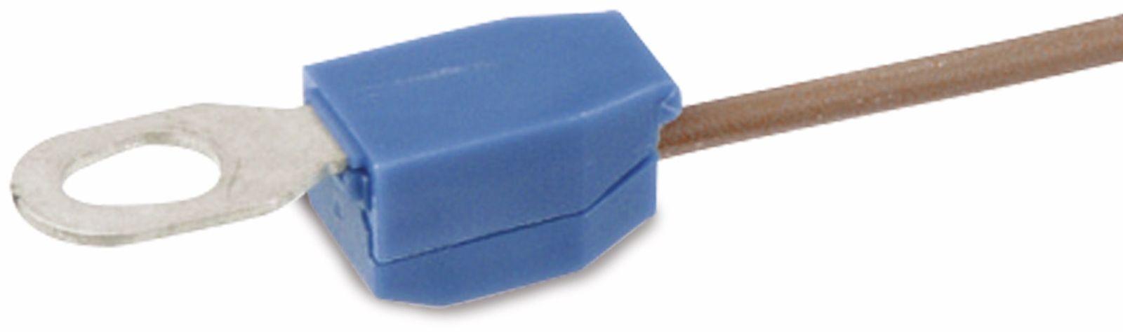 100 Ringkabelschuhe M6 rot mit Schrumpfschlauch 0,5 bis 1,5 mm² 0,13 EUR//Stück
