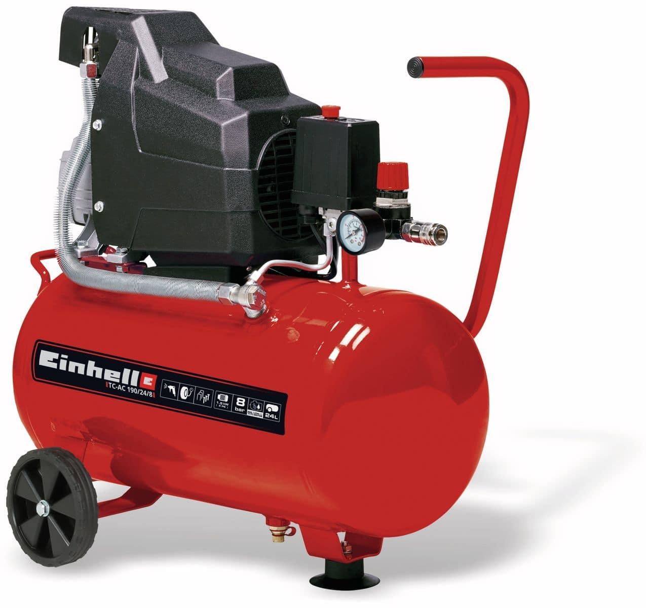 Omtyckta Luft-Kompressor EINHELL TC-AC 190/24, rot/schwarz, 230V~, 1500 W AF-29