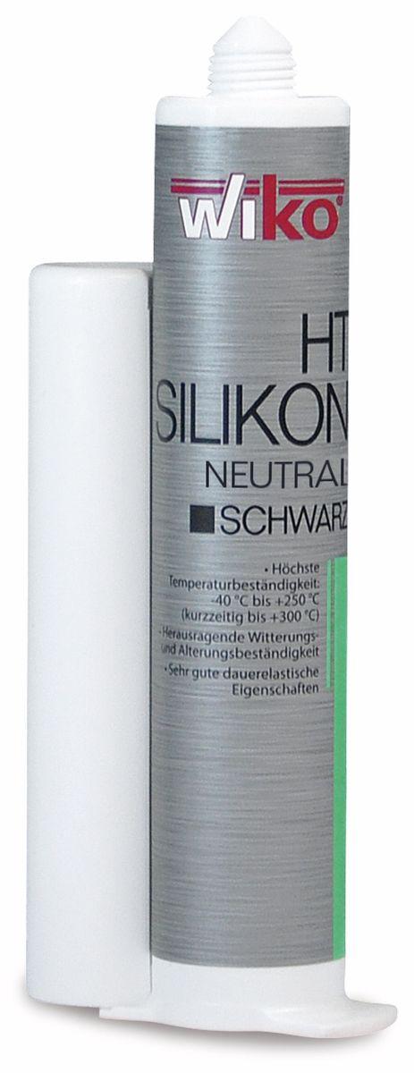 Silikon-Dichtmasse BLACK-SIL, 80ml Wiko