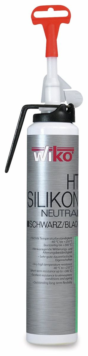 Silikon-Dichtmasse BLACK-SIL, 200ml Wiko