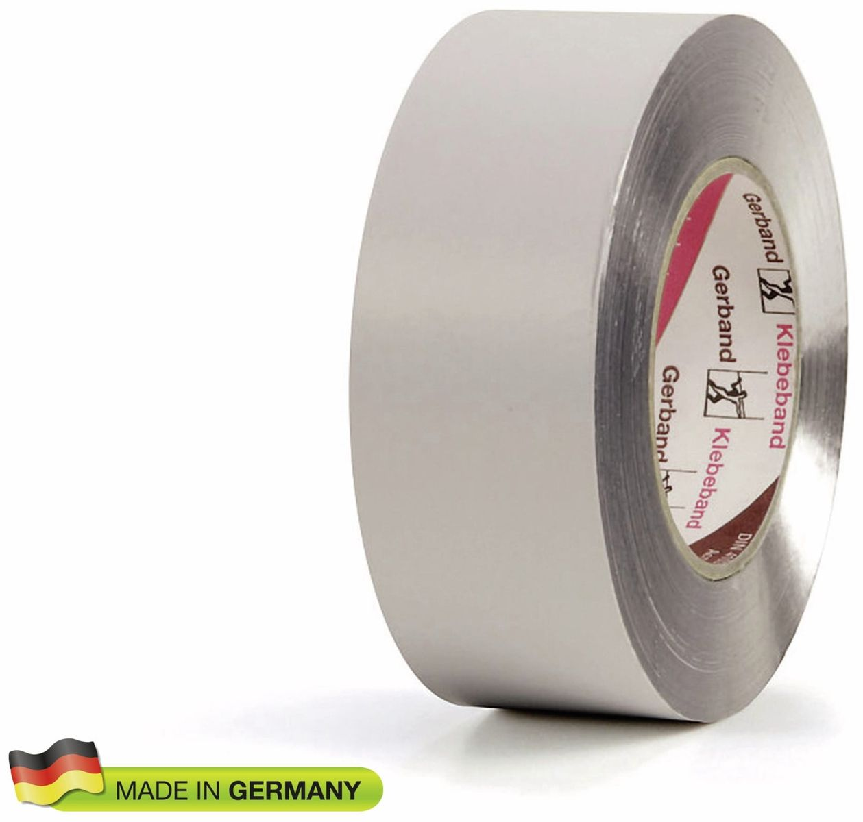 Klebe Band Tape 50mm x 50m 80°C fest weiß 6 x Abklebeband