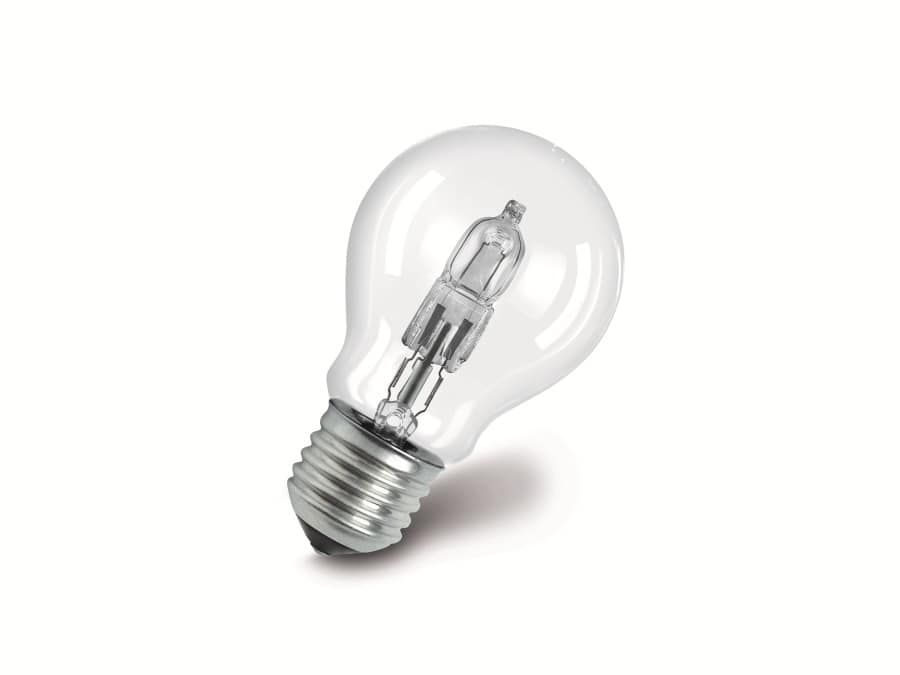 halogen lampe osram classic a e27 30 w 405 lm. Black Bedroom Furniture Sets. Home Design Ideas