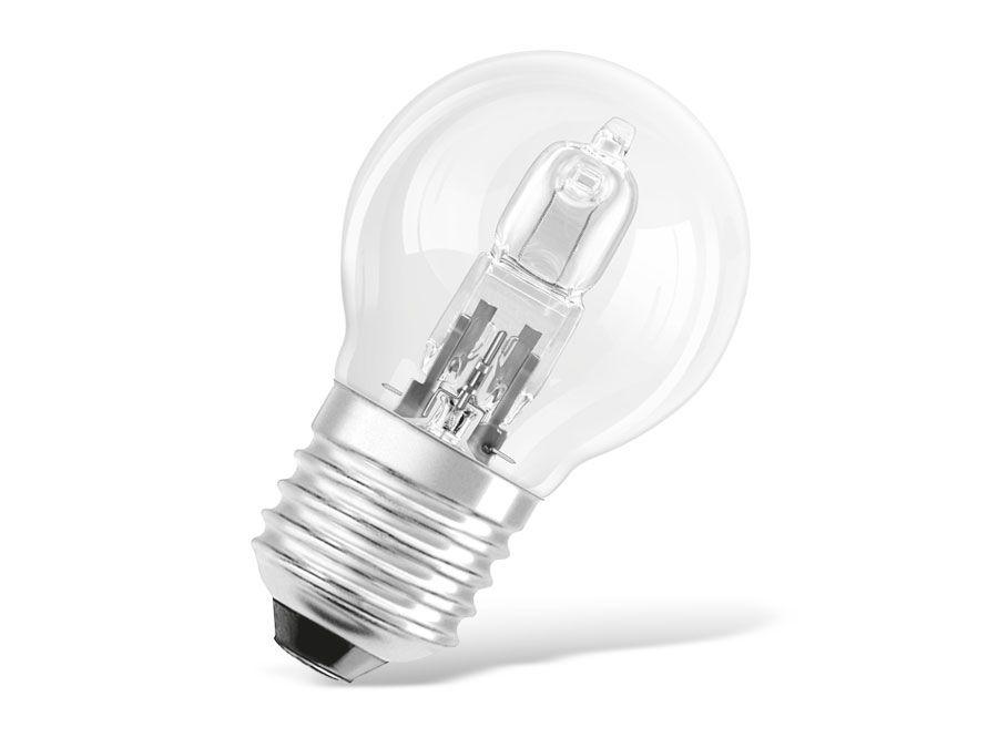 halogen lampe osram classic p e27 eek d 30 w 405 lm. Black Bedroom Furniture Sets. Home Design Ideas