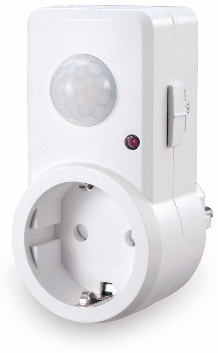 steckdose mit bewegungsmelder sonero x ims060 120 ip20 wei bewegungsmelder ebay. Black Bedroom Furniture Sets. Home Design Ideas