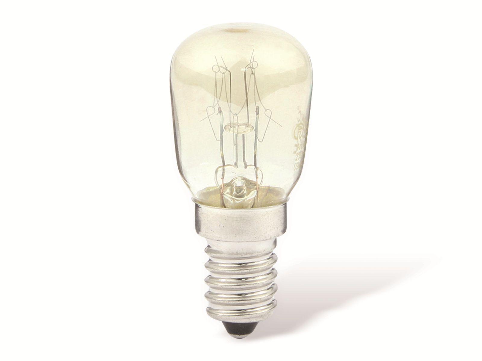 birnenlampe k hlschrank e14 eek g 15 w. Black Bedroom Furniture Sets. Home Design Ideas