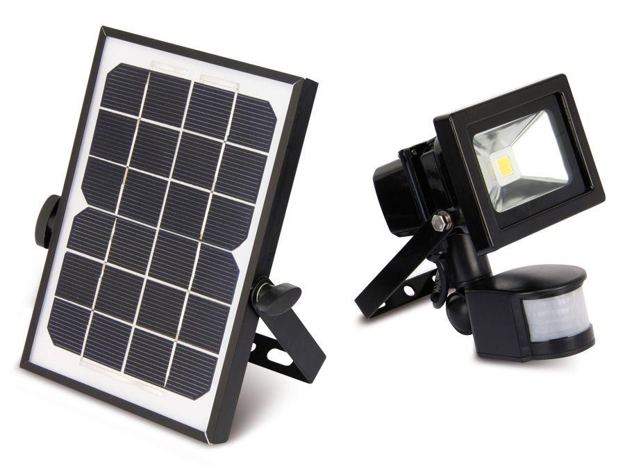 solar led fluter mit bewegungsmelder eek a 10 w 1000 lm 4200 k online kaufen. Black Bedroom Furniture Sets. Home Design Ideas