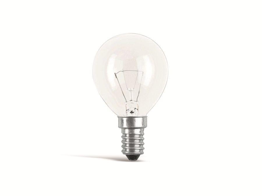 Philips Glühlampe PHILIPS, Tropfen, E14 230V, 60W, klar