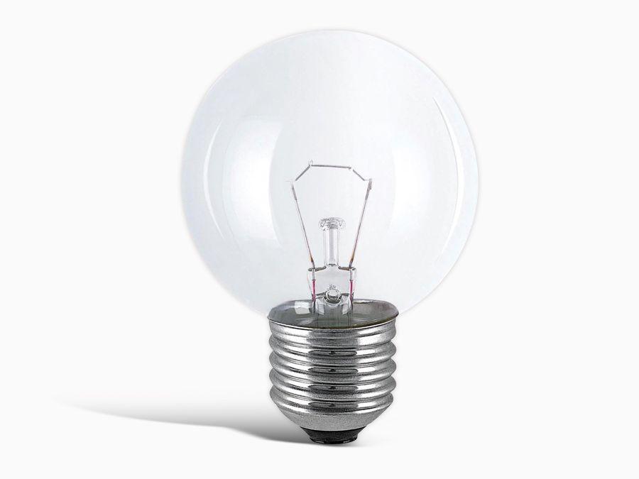 Philips Glühlampe PHILIPS, Tropfen, E27 230V, 60W, klar