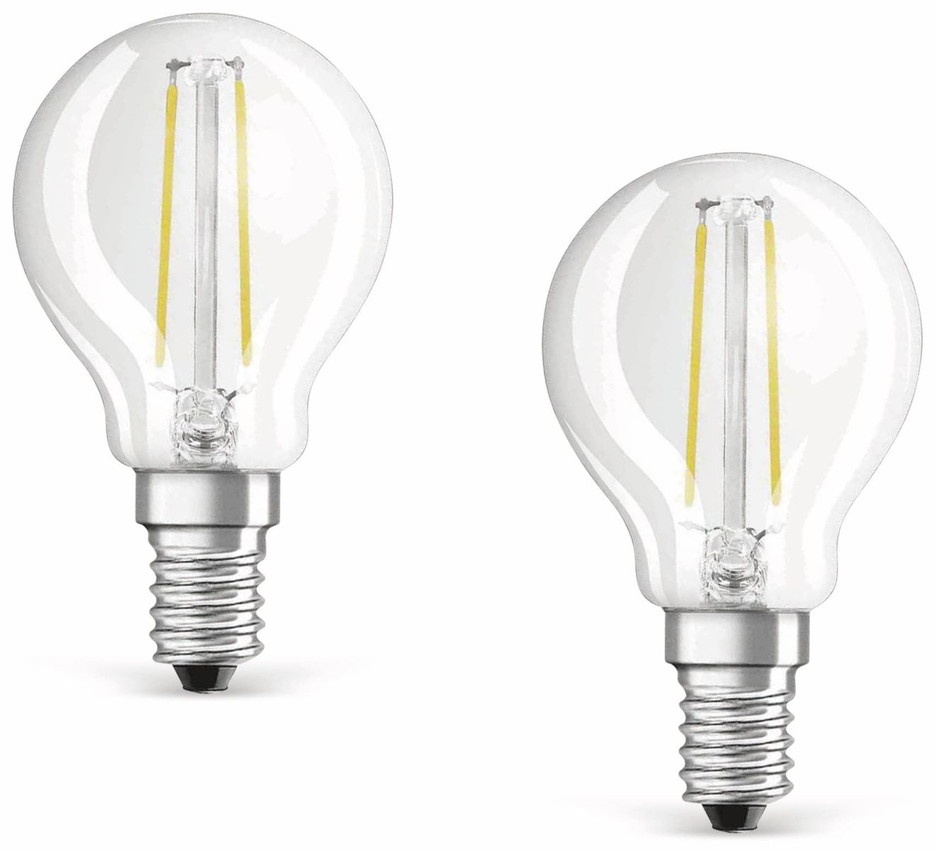 led lampe osram base classic p e14 eek a 4 w 470 lm 2700 k 2 st ck online kaufen. Black Bedroom Furniture Sets. Home Design Ideas