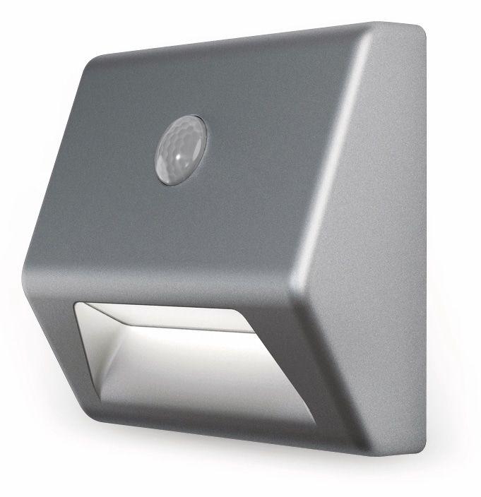 led nachtlicht osram nightlux stair mit bewegungssensor silber online kaufen. Black Bedroom Furniture Sets. Home Design Ideas
