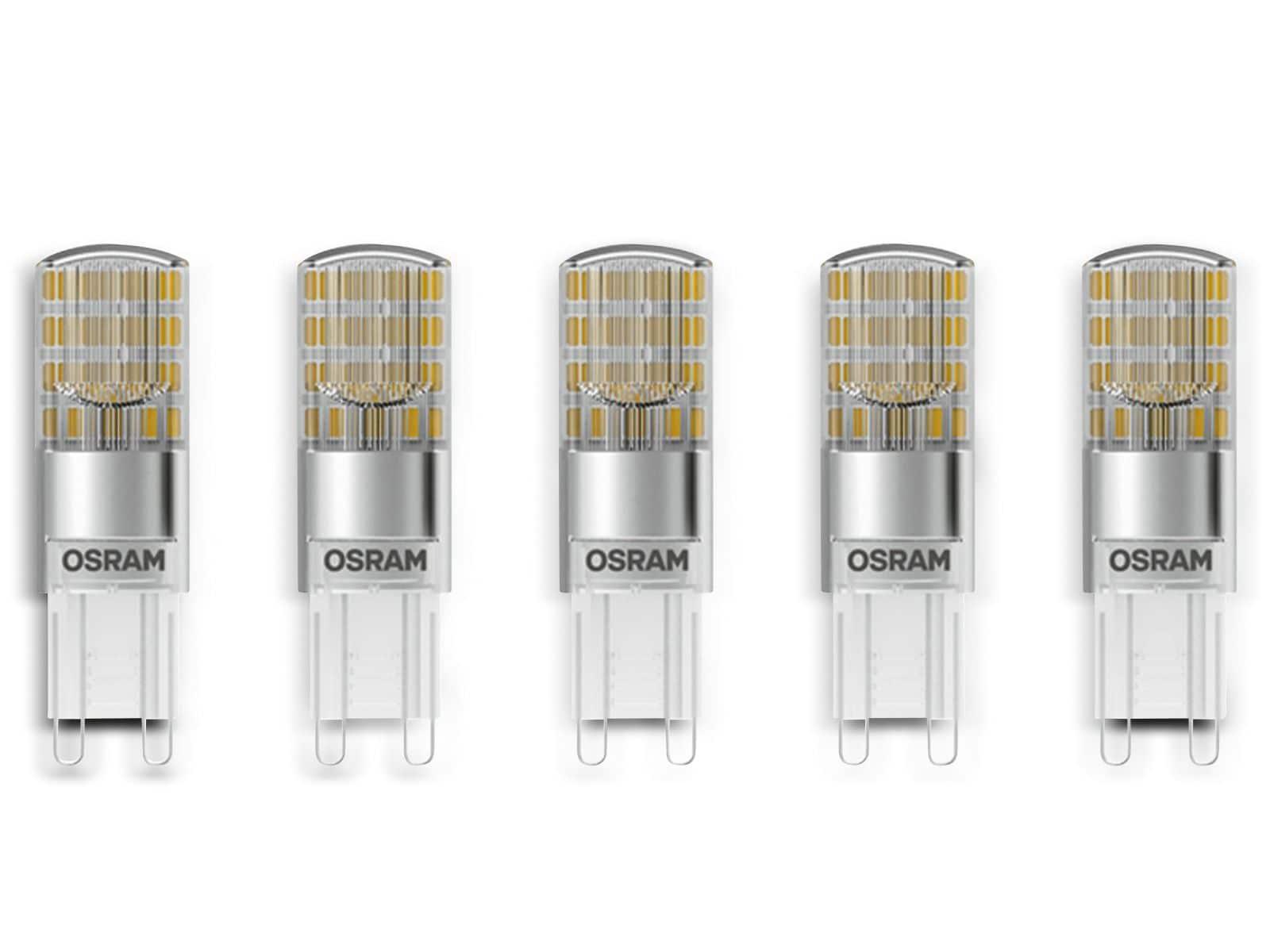 Led lampe osram star g9 eek: a 2 6 w 320 lm 2700 k 5 stück