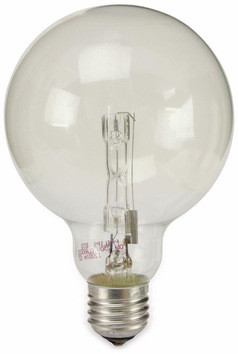 halogen lampe philips eco classic e27 eek d 70w 1200lm. Black Bedroom Furniture Sets. Home Design Ideas