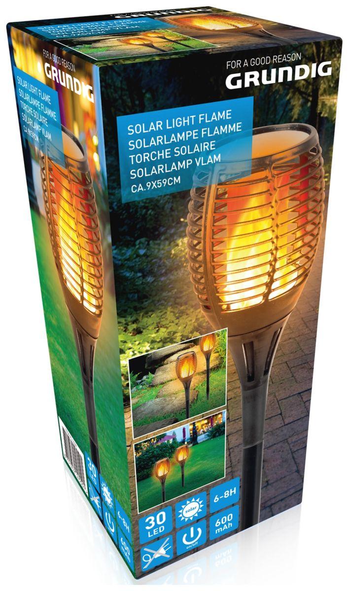 solar gartenfackel