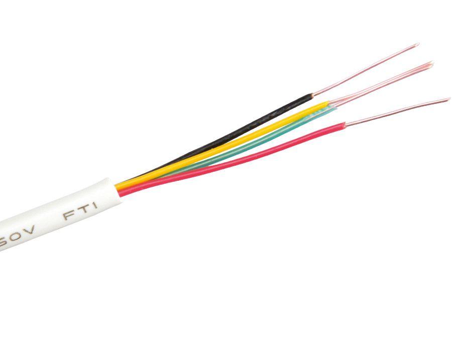 Philips Telefon-Installationskabel PHILIPS SWL6175/17, 4x0,51mm, 23m