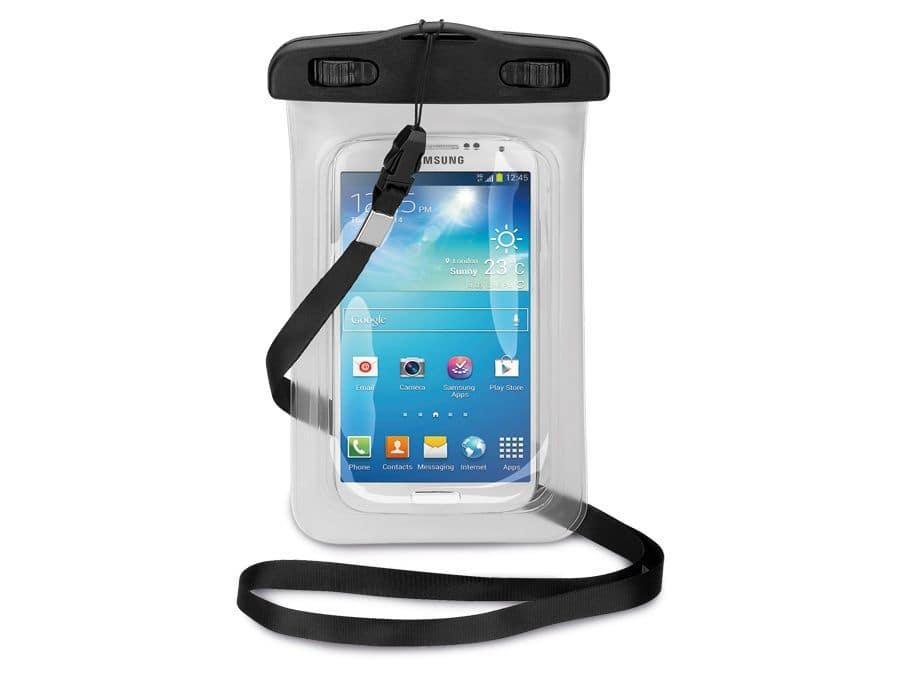 Handy-Tasche, wasserdicht, universal goobay