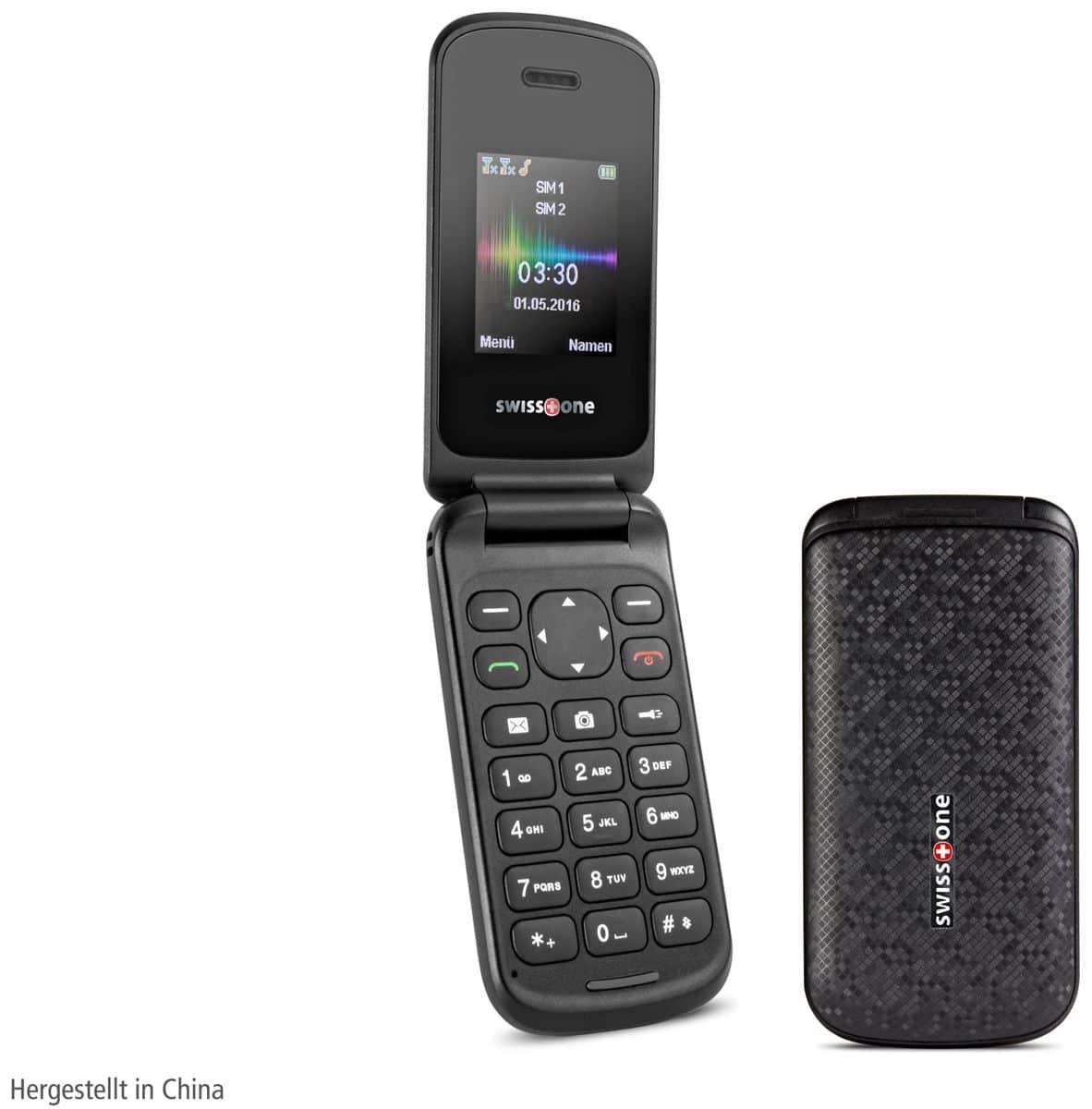 Handy SWISSTONE SC 330, schwarz