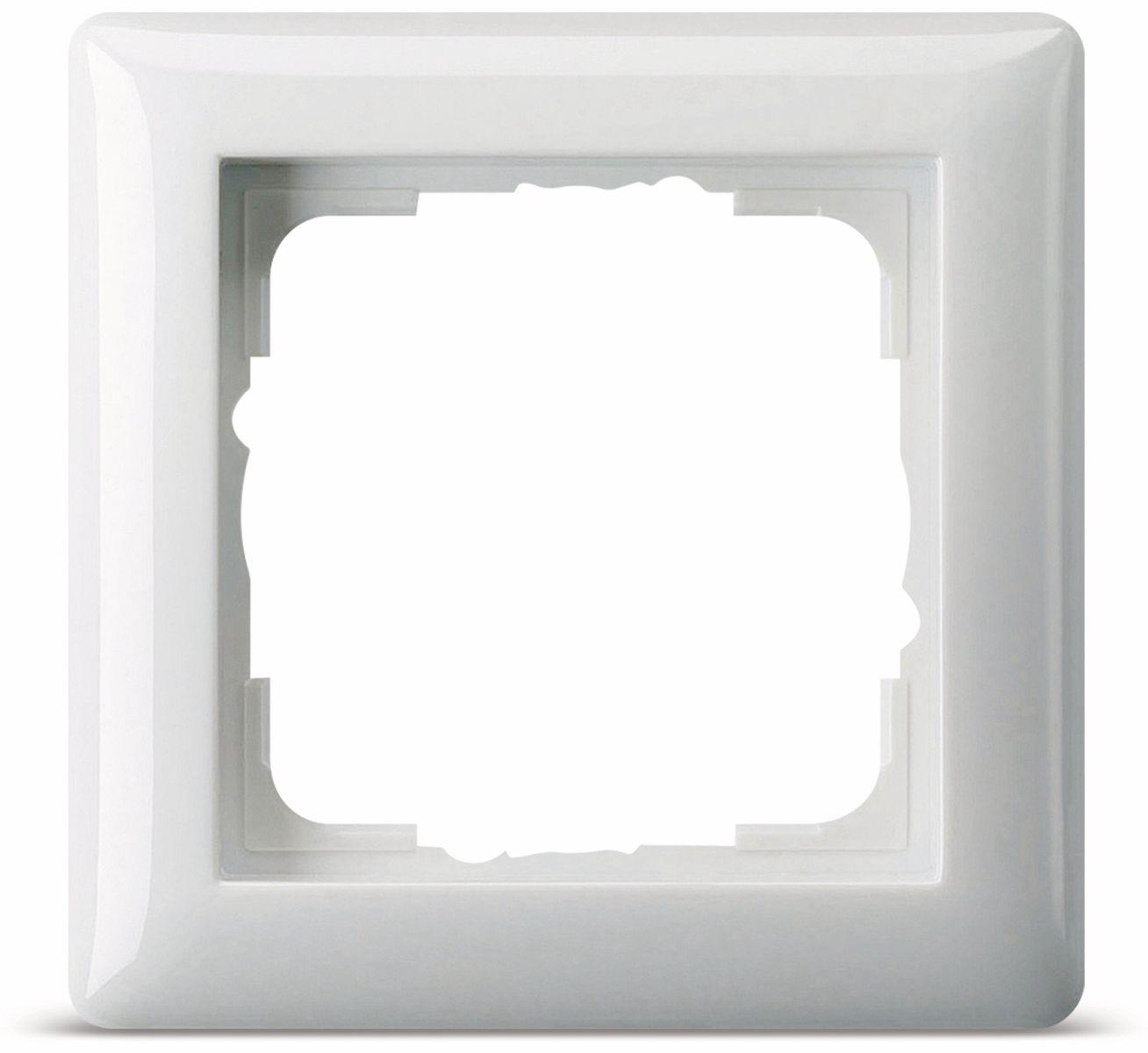 abdeckrahmen 1 fach gira standard 55 021103 reinwei. Black Bedroom Furniture Sets. Home Design Ideas