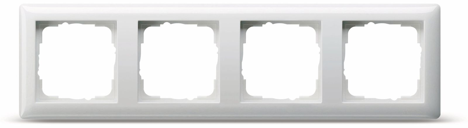 abdeckrahmen 4 fach gira standard 55 021403 reinwei. Black Bedroom Furniture Sets. Home Design Ideas