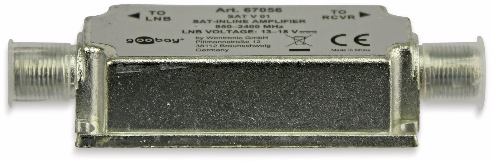 SAT-Leitungsverstärker, 20dB