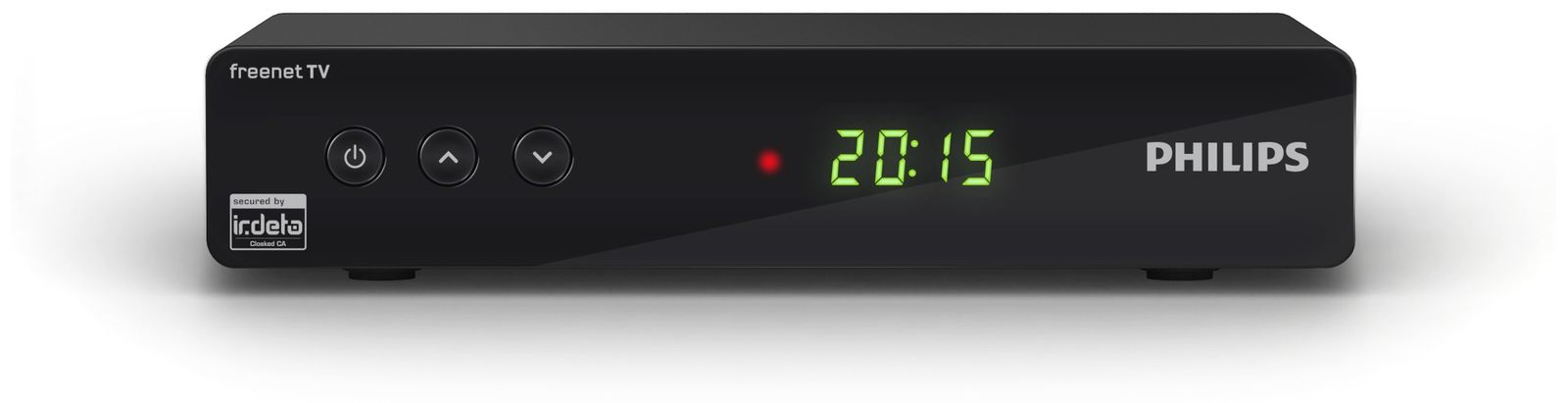 dvb t2 hdtv receiver philips dtr3442b freenet tv online kaufen. Black Bedroom Furniture Sets. Home Design Ideas