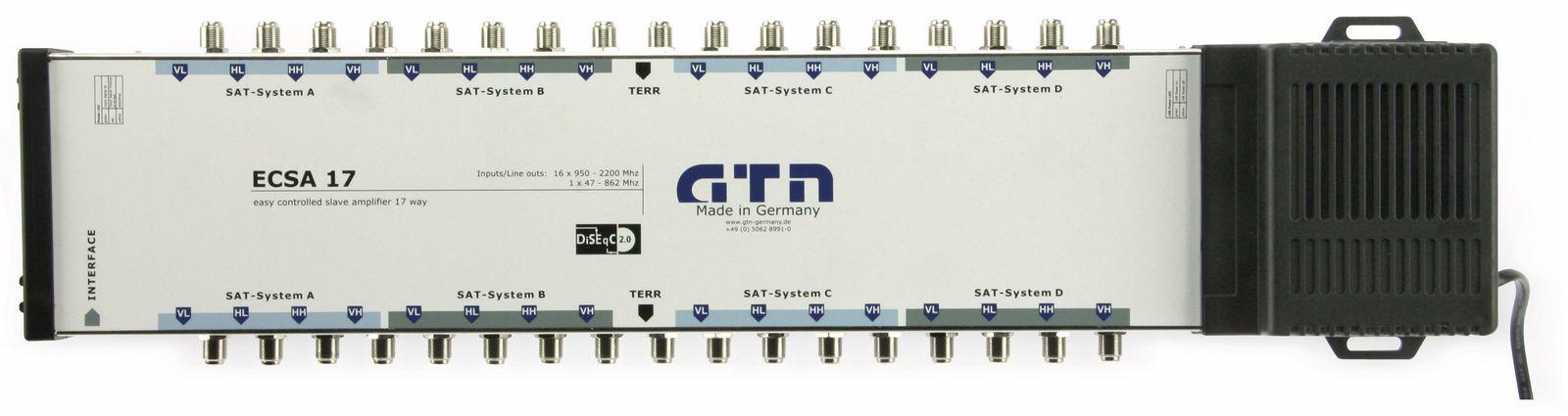 Verstärker GTN easy ECSA 17