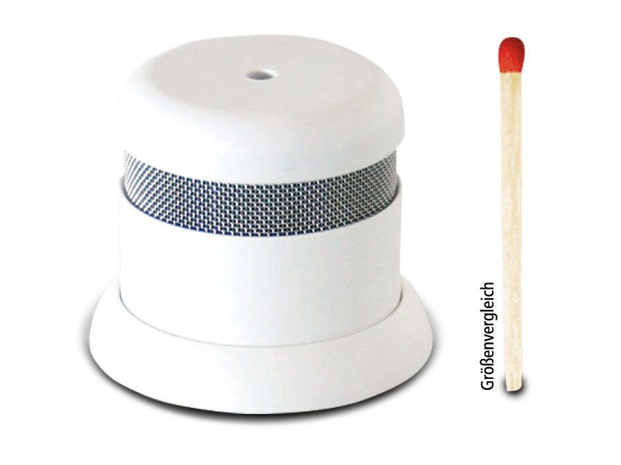 rauchmelder invisible 5y 5 jahre batterie lebensdauer. Black Bedroom Furniture Sets. Home Design Ideas