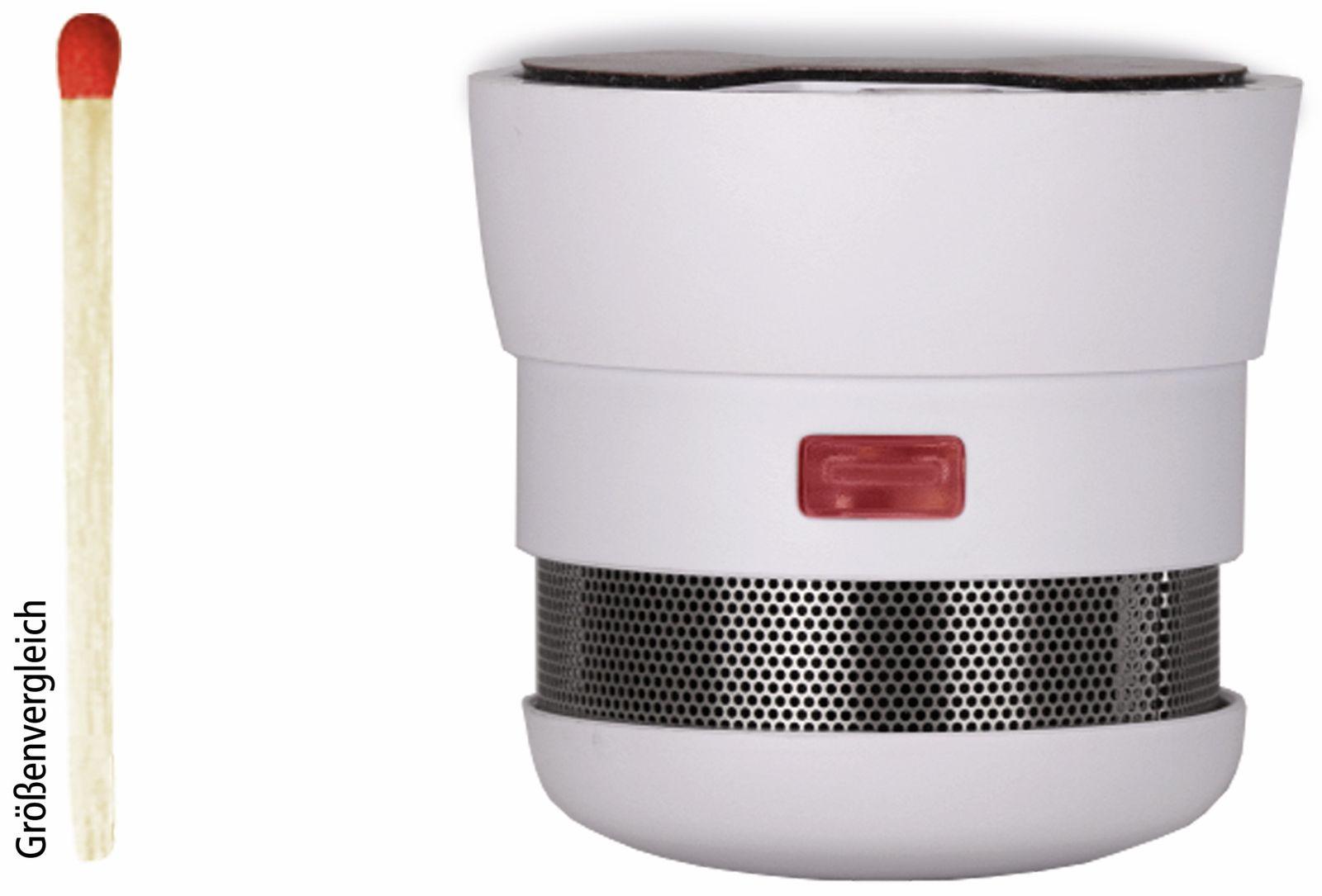 rauchmelder cavius invisible 10y 10 jahre batterie lebensdauer online kaufen. Black Bedroom Furniture Sets. Home Design Ideas