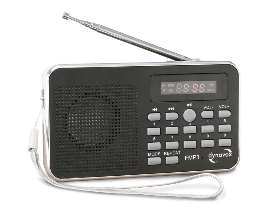 mp3 radio mit eingebautem akku dynavox fmp3. Black Bedroom Furniture Sets. Home Design Ideas
