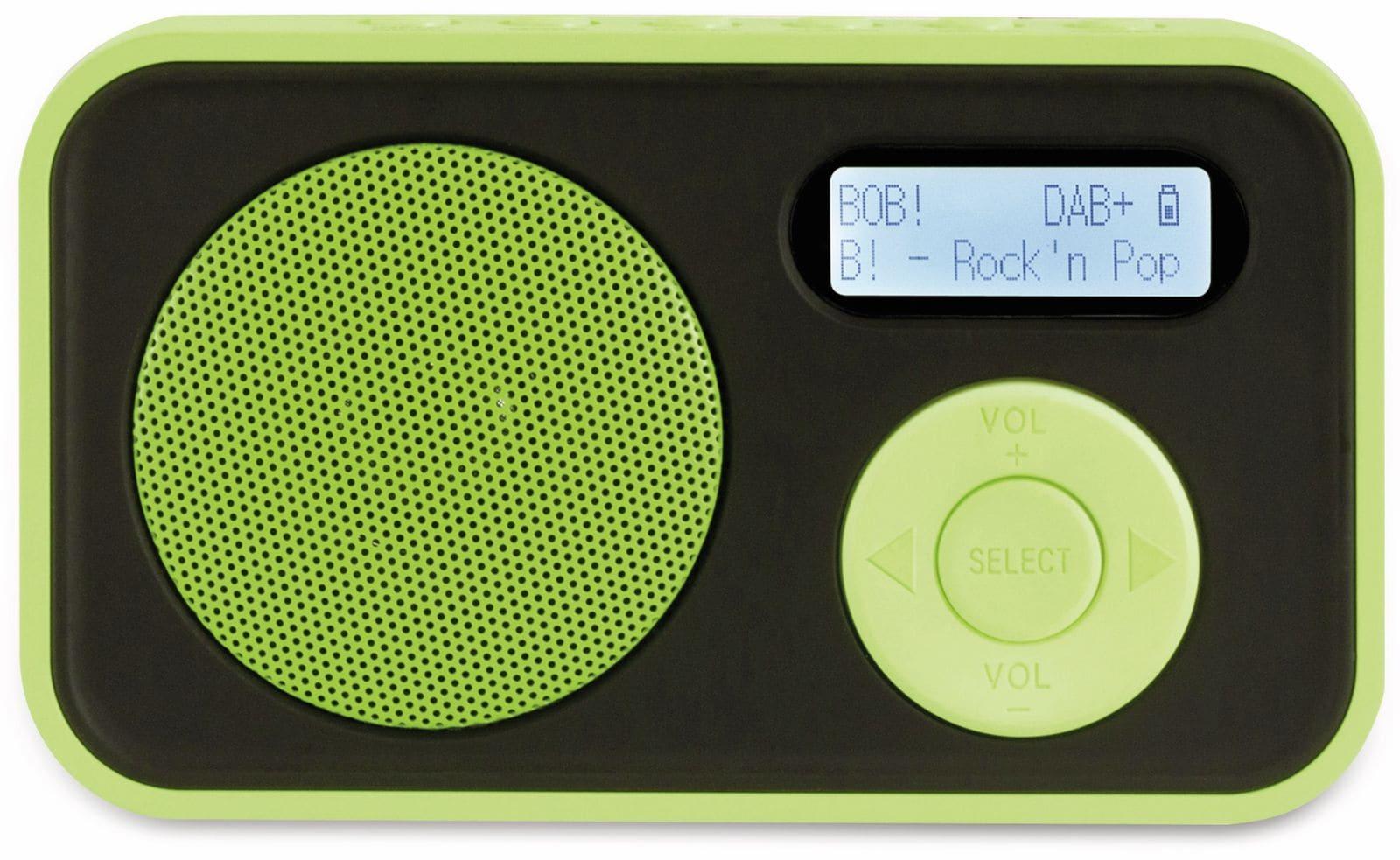 DAB Radio IMPERIAL DABMAN 12, grün