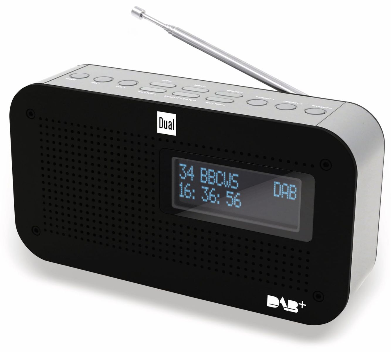 dab radio dual dab 71 online kaufen. Black Bedroom Furniture Sets. Home Design Ideas