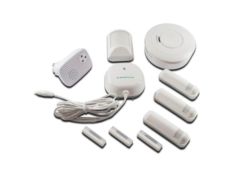 Z-WAVE Security Paket, Rauchmelder,