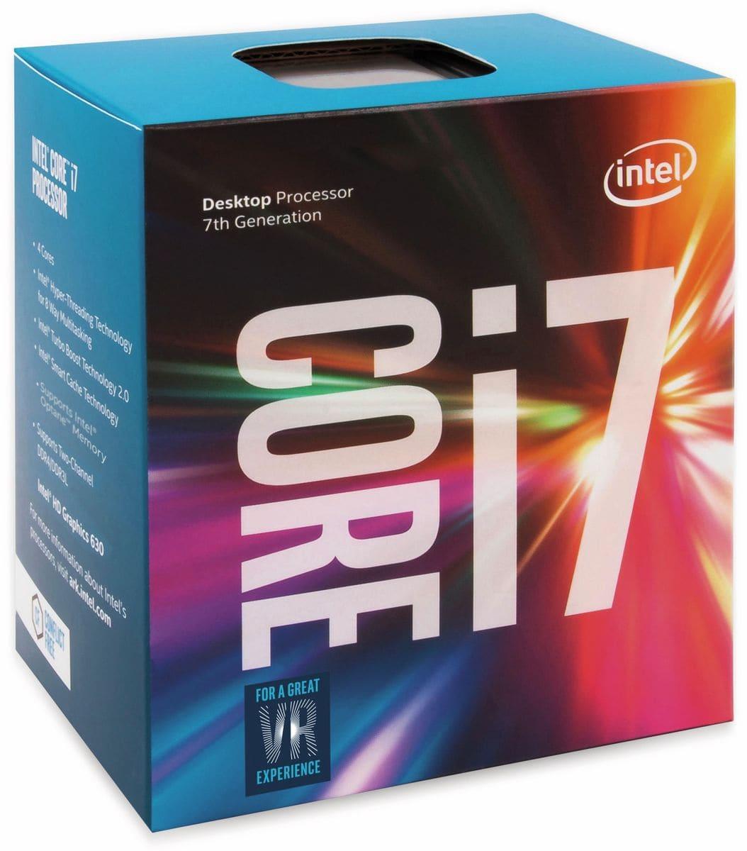 CPU INTEL Core i7-7700, 4x 3,6 GHz