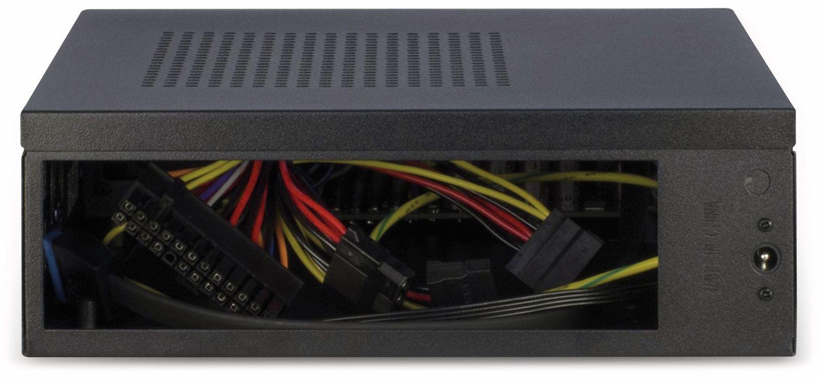schwarz Inter-Tech ITX A80 HTPC-Geh/äuse