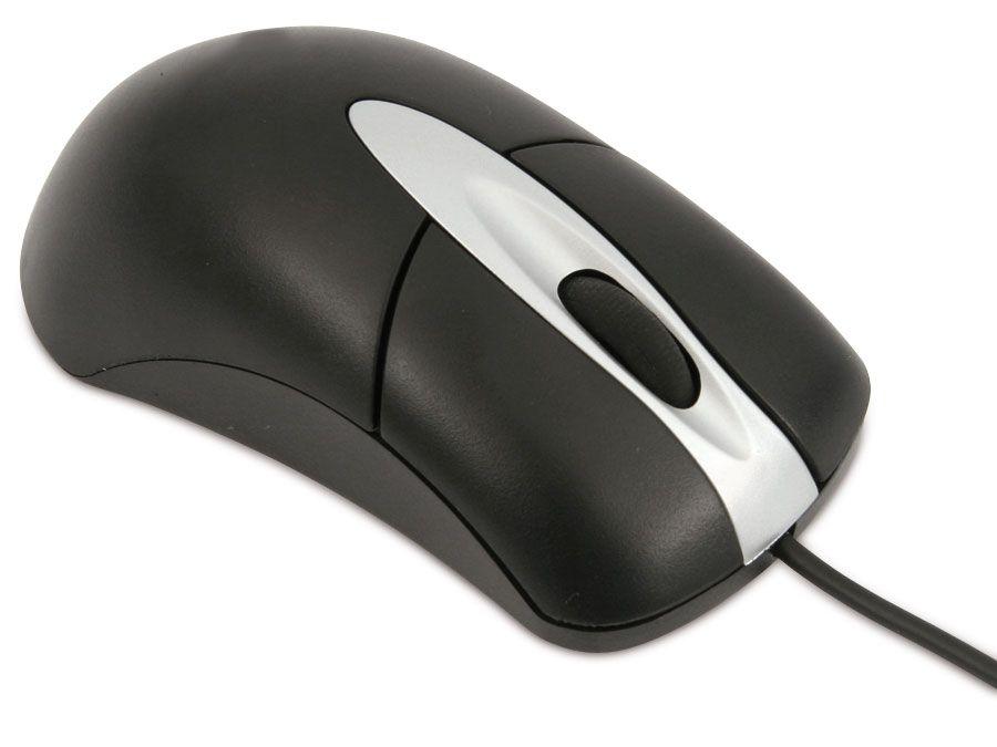 Maus, USB, 3 Tasten LogiLink