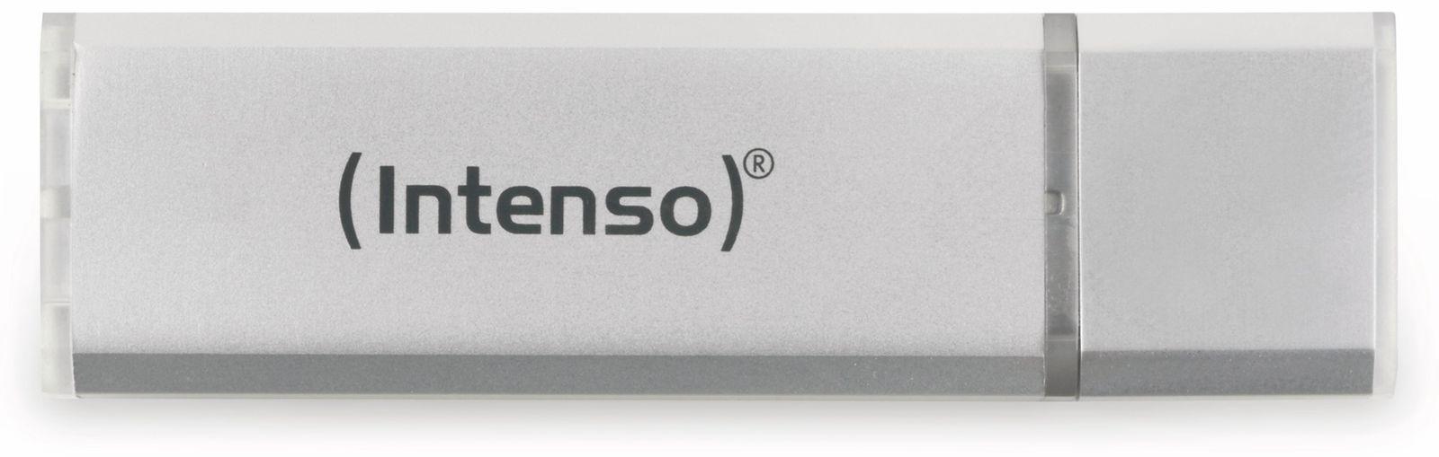 Intenso USB2.0 Stick, 32GB, silber, Alu INTENSO ALU LINE