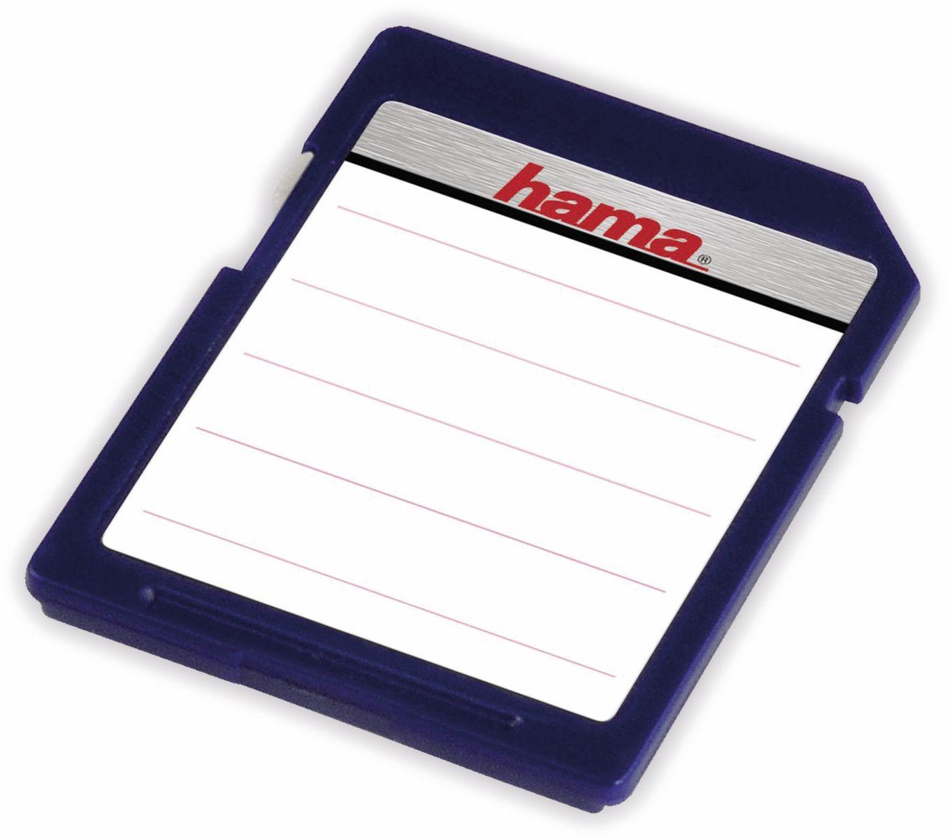 Speicherkarten-Etiketten SD/MMC, Hama