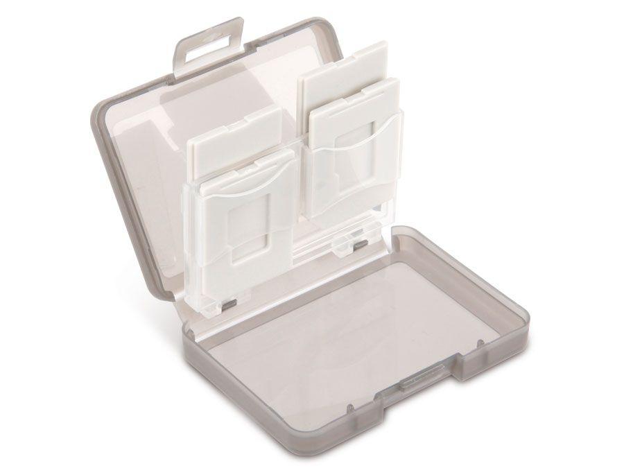 Speicherkarten-Box, 4x SD/microSD goobay