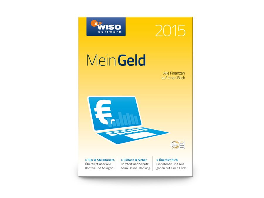 Software WISO Mein Geld 2015