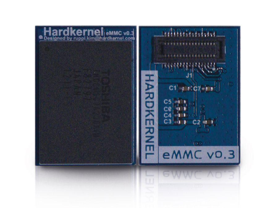 ODROID-U3 eMMC-Modul, 8GB, Linux