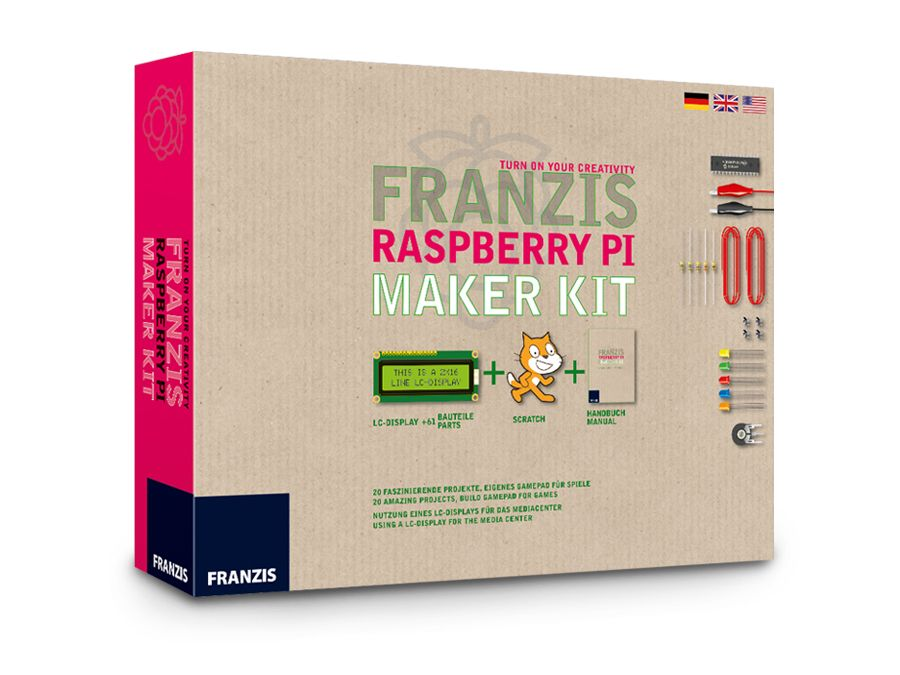 Maker Kit RASPBERRY PI Franzis