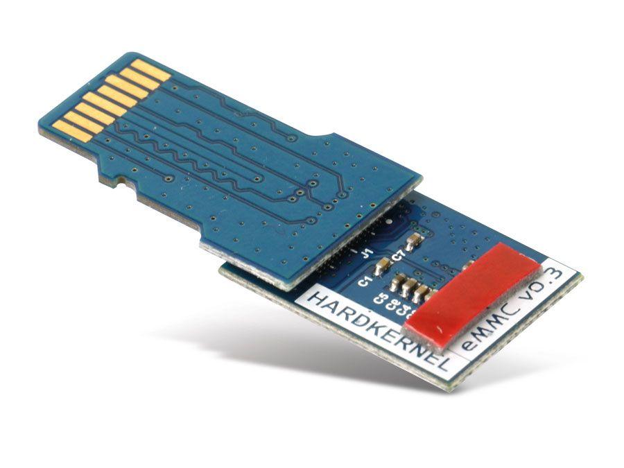 ODROID-C1 eMMC Modul, 8 GB, mit Linux   Pollin de