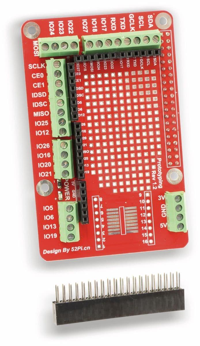 Raspberry Pi Prototyping Pi Plate Board