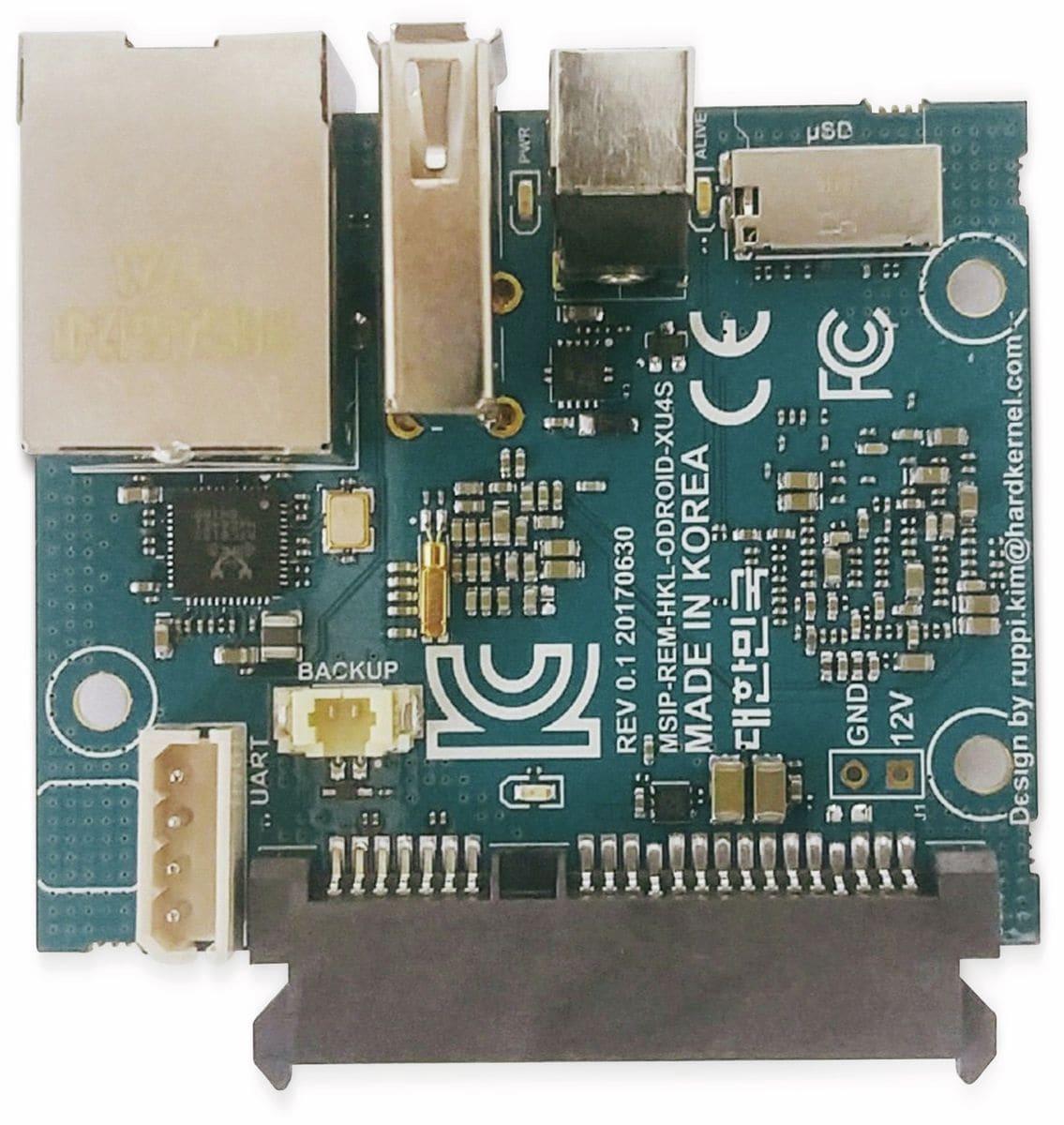 ODROID-HC1 Einplatinen Computer für NAS und Cluster