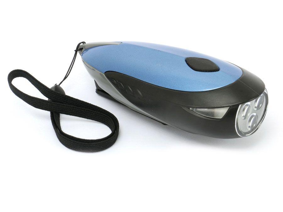 dynamo led taschenlampe 3 leds verschiedene farben online kaufen. Black Bedroom Furniture Sets. Home Design Ideas